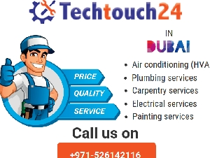Get AC repairing, Maintenance , AC installation services in Dubai at Techtouch24